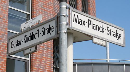 kirchhoff-planck-strasse