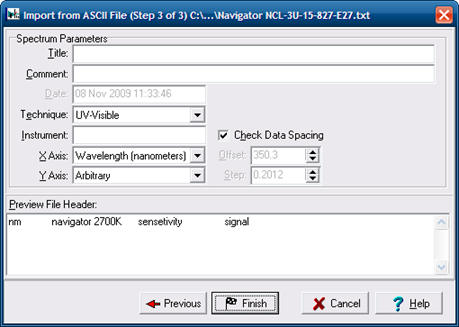 ACD SpecViewer 3